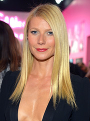 Gwyneth Paltrow opted for a sleek straight 'do when she attended the Journey of a Dress exhibition opening.