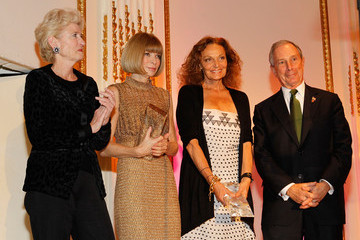 Diane Von Furstenberg Michael Bloomberg 2010 NYC & Company Foundation Leadership Awards Gala - Dinner