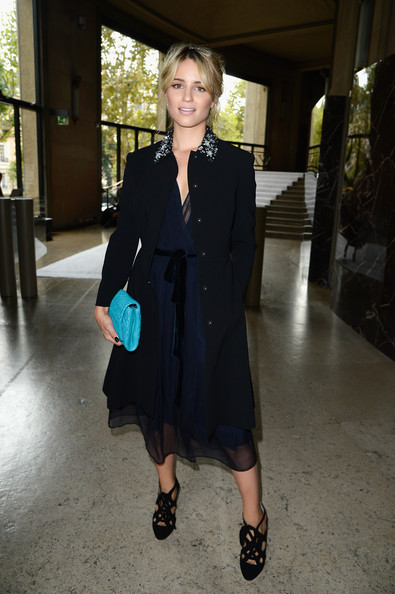 Dianna Agron Evening Coat