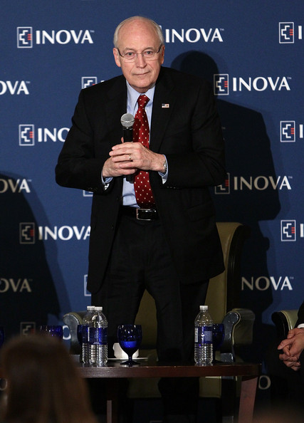 Former Vice President Dick Cheney Delivers Keynote At Cardiovascular Symposium