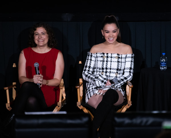 More Pics of Hailee Steinfeld Dangling Diamond Earrings (2 of 26) - Dangle Earrings Lookbook - StyleBistro [fashion,performance,event,design,fashion design,photography,talent show,stage,performing arts,alena smith,hailee steinfeld,screening,l-r,dickinson,new york city,regal battery park cinemas,tribeca tv festival]
