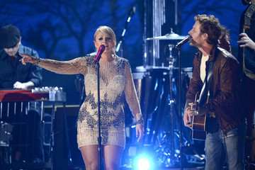 Dierks Bentley Miranda Lambert The 55th Annual GRAMMY Awards - Show