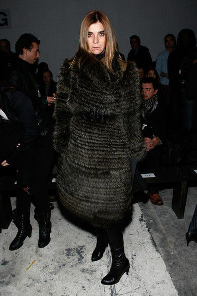 More Pics of Carine Roitfeld Fur Coat (1 of 5) - Fur Coat Lookbook - StyleBistro