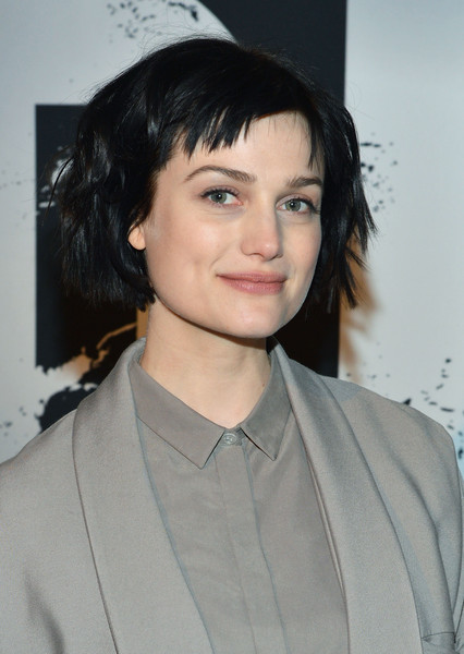 Alison Sudol sported a tousled bob at the Dig: Escape the Room event.