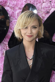 Christina Ricci looked adorable wearing this bob with side-swept bangs at the Dior Homme Spring 2019 show.