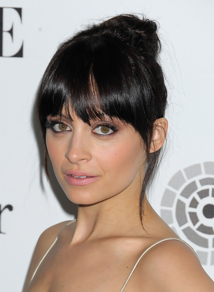 Nicole Richie Celebrity Black Hair Styles Pictures