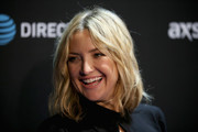 Kate Hudson framed her face with a subtly wavy lob for DirecTV Super Saturday Night.