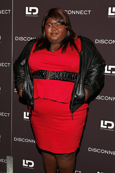 More Pics of Gabourey Sidibe Leather Jacket (1 of 2) - Gabourey Sidibe Lookbook - StyleBistro