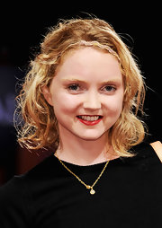 Lily Cole looked cute at the 'Disconnect' premiere wearing her hair in a short curly style.