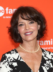 Mary Page Keller kept it classic and feminine with this short curly 'do at the TCA Summer Press Tour.