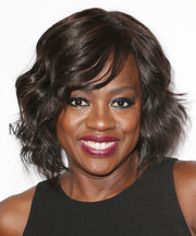 Viola Davis wore chic short waves when she attended the Disney Upfronts.