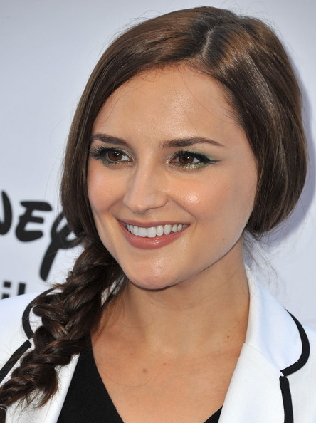 More Pics of Rachael Leigh Cook Long Braided Hairstyle (1 of 4) - Long Braided Hairstyle Lookbook - StyleBistro