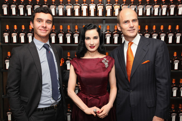 La Maison Cointreau Debuts In NYC With Performance By Dita Von Teese