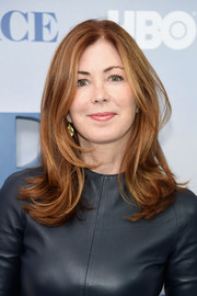Dana Delany topped off her look with a flippy layered cut when she attended the New York premiere of 'Divorce.'