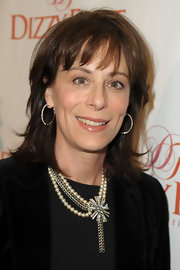Jane Kaczmarek sported a trendy shoulder-length layered cut at the 'Celebration of Dance.'