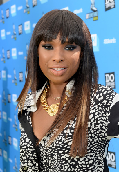 More Pics of Jennifer Hudson Smoky Eyes (1 of 16) - Jennifer Hudson Lookbook - StyleBistro