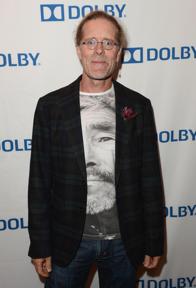 Per Hallberg dressed up a funky t-shirt with an equally unique plaid blazer at the Sound Mixing and Sound Editing Academy Award Nominees event.