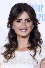 Penelope Cruz sported a romantic half-up hairstyle at the Madrid premiere of 'Dolor y Gloria.'