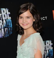 Bailee Madison had her hair curled for the 'Don't Be Afraid of the Dark' premiere.