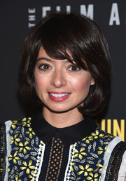 Kate Micucci wore a perfectly cute bob at the New York premiere of 'Don't Think Twice.