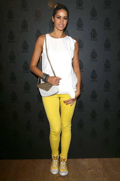 More Pics of Elena Santarelli Skinny Pants (1 of 8) - Elena Santarelli Lookbook - StyleBistro