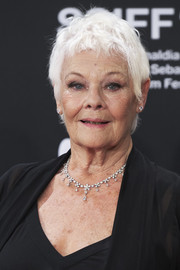 Judi Dench looked adorable with her messy pixie at the 2018 San Sebastian Film Festival.