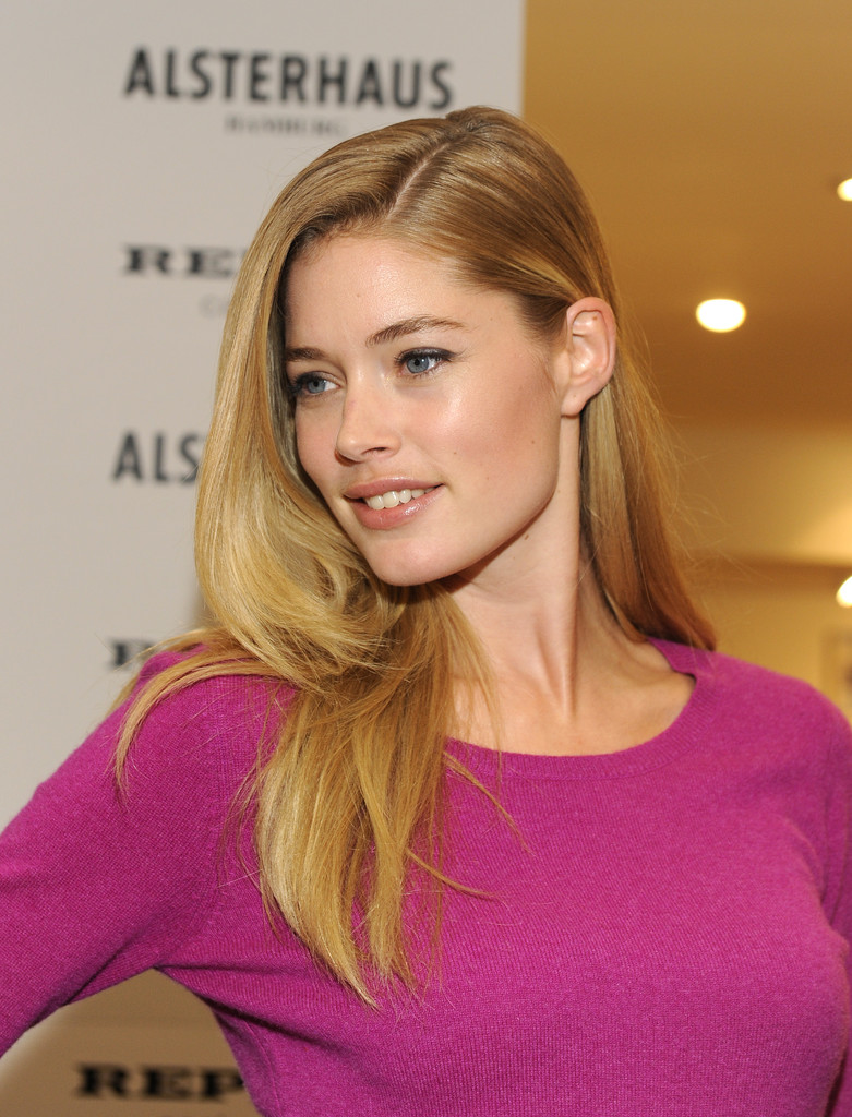 Doutzen+Kroes in Doutzen Kroes Launches Fashion Collection