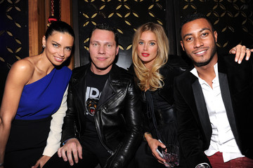 Doutzen Kroes Sunnery James Victoria's Secret Fashion Show Afterparty