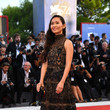 Hong Chau in Elie Saab