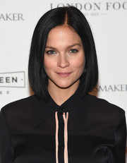 Leigh Lezark was stylishly coiffed with this sleek graduated bob at the New York screening of 'The Dressmaker.'