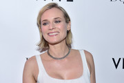 Diane Kruger kept it casual with this minimally styled bob during her DuJour cover celebration.