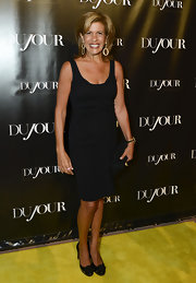 Hoda Kotb looked amazing in this little black dress at the DuJour Magazine Launch Party.