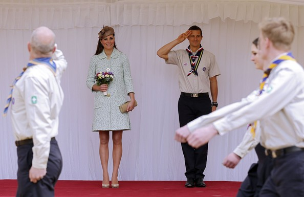 More Pics of Kate Middleton Decorative Hat (7 of 35) - Kate Middleton Lookbook - StyleBistro