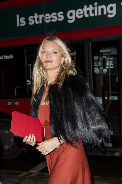 More Pics of Kate Moss Evening Dress (1 of 2) - Kate Moss Lookbook - StyleBistro [duchess of cambridge attends the portrait gala,hair,blond,hairstyle,premiere,long hair,brown hair,event,layered hair,smile,kate moss,london,england,national portrait gallery,portrait gala]