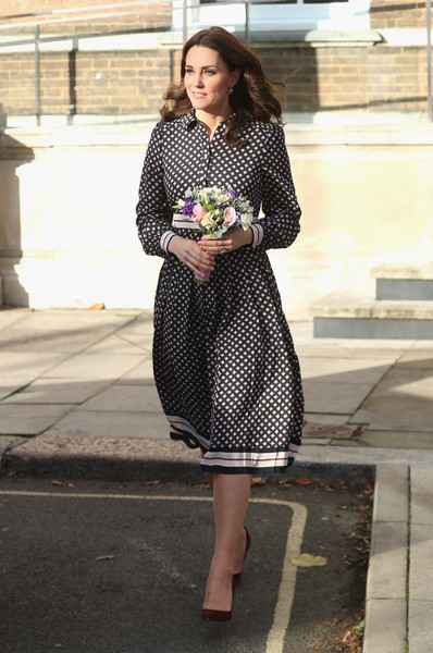 Kate Middleton At The Foundling Museum, 2017