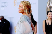 Blake Lively Sparkles in a Marchesa Gown