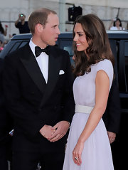 Prince William wore his hair extra short for the BAFTA Brits to Watch event in LA.