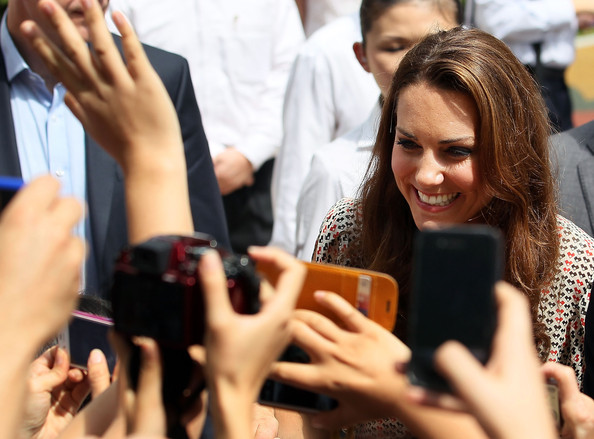 More Pics of Kate Middleton Long Wavy Cut (1 of 129) - Kate Middleton Lookbook - StyleBistro