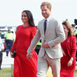 Meghan Markle Style: Royal Red