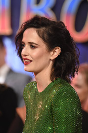 Eva Green rocked a messy teased bob at the European premiere of 'Dumbo.'