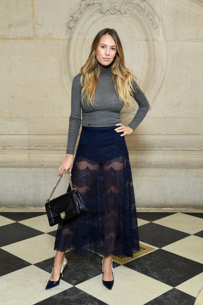 Dylan Penn Sheer Skirt