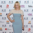 Vera Farmiga at the A&E Upfronts in New York