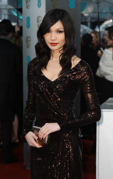 More Pics of Gemma Chan Beaded Dress (1 of 5) - Gemma Chan Lookbook - StyleBistro
