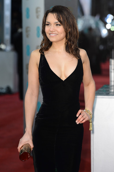 More Pics of Samantha Barks Evening Dress (4 of 9) - Samantha Barks Lookbook - StyleBistro