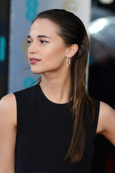 More Pics of Alicia Vikander Long Straight Cut (5 of 11) - Long Straight Cut Lookbook - StyleBistro