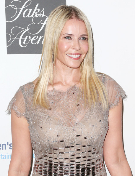 More Pics of Chelsea Handler Long Straight Cut (1 of 6) - Chelsea Handler Lookbook - StyleBistro