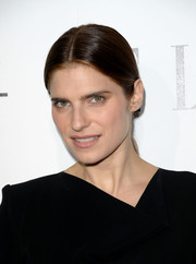 Lake Bell opted for a hippie-chic center-parted ponytail when she attended the Elle Women in Hollywood celebration.