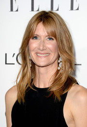 Laura Dern looked cool at the Elle Women in Hollywood celebration with her shoulder-length layered 'do.