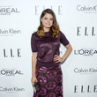 Melonie Diaz in Plum Flowers