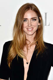 Chiara Ferragni rocked messy-chic layers at the Elle Women in Hollywood event.